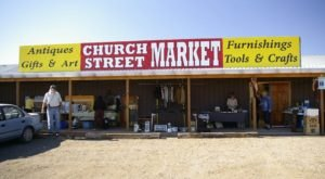 This Vintage Market In New Mexico Will Transport You To The Old West