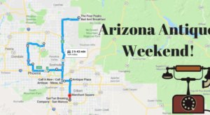 Here's The Perfect Weekend Itinerary If You Love Exploring Arizona's Best Antique Stores