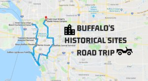 This Road Trip Takes You To The Most Fascinating Historical Sites Around Buffalo