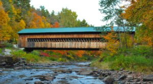 This Delightful Covered Bridge In Massachusetts Is Perfect For A Fall Drive