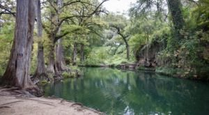 Camp Alongside This Blue Lagoon Near Austin For A Truly Magical Experience
