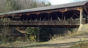 The Enchanting Covered Bridge Hike In Ohio That's Perfect For An Autumn Day
