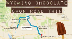 The Sweetest Road Trip in Wyoming Takes You To 8 Old School Chocolate Shops