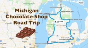 The Sweetest Road Trip in Michigan Takes You To 9 Old School Chocolate Shops