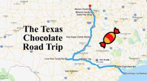This Sweet Road Trip In Texas Takes You To 7 Old-School Chocolate Shops