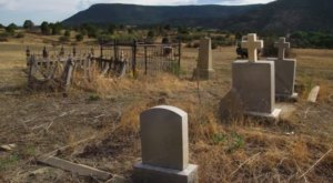 You Might Just Spot A Ghost At The Most Haunted Cemetery In New Mexico