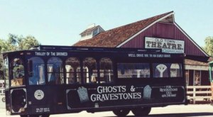 This Haunted Trolley In Southern California Will Take You Somewhere Absolutely Terrifying