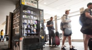 This East Coast Airport Has A Vending Machine That Sells Handmade Local Gifts