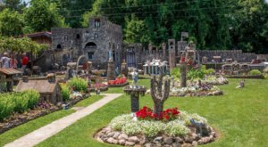 The Little Rock City Near Cincinnati That's Made With Over 250,000 Stones