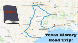 This Road Trip Takes You To The Most Fascinating Historical Sites In All Of Texas