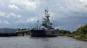 This Ghost Hunt On The Battleship USS North Carolina Isn't For The Faint Of Heart