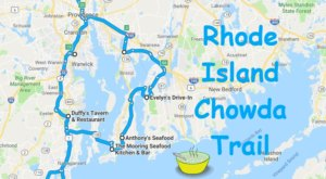 You Will Want To Take This Incredible Chowda Trail In Rhode Island As Soon As You Can