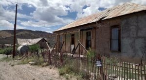 The Abandoned Mine Town In New Mexico That Lets You Experience Hauntings From The Past