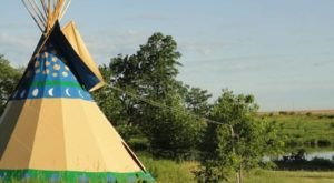 Spend The Night Under A TePee At This Unique Iowa Campground