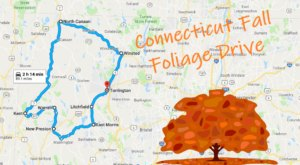 This 2-Hour Drive Through Connecticut Is The Best Way To See This Year's Fall Colors