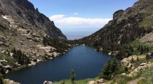 Most People Will Never See This Gorgeous Lake Hiding In Colorado