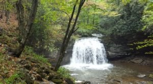 Most People Will Never See This Wondrous Waterfall Hiding In West Virginia