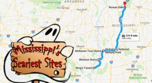 Follow This Route To The Five Scariest Sites In All Of Mississippi