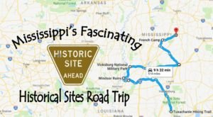This Road Trip Takes You To The Most Fascinating Historical Sites In All Of Mississippi
