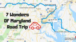This Scenic Road Trip Takes You To All 7 Wonders Of Maryland