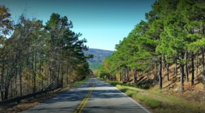 Stare At 54 Miles Of Oklahoma's Gorgeous Landscape On The Talimena Scenic Drive