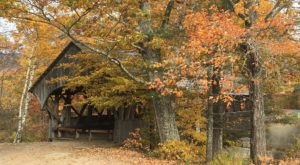 The Enchanting Covered Bridge Walk In Maine That's Perfect For An Autumn Day
