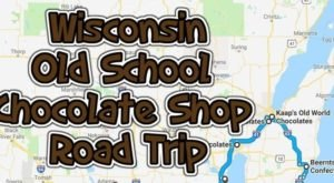 The Sweetest Road Trip in Wisconsin Takes You To 11 Old School Chocolate Shops