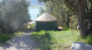 This Montana Park Has A Yurt Village That's Absolutely To Die For