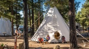 Spend The Night Under A Tepee At This Unique Arizona Campground