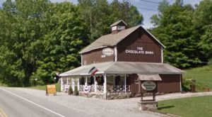 Once You Find This Secret Vermont Chocolate Barn You'll Visit Again And Again