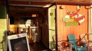 The Beach-Themed Restaurant In Rhode Island Where It Feels Like Summer All Year Long