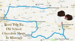 The Sweetest Road Trip in Missouri Takes You To 6 Old School Chocolate Shops