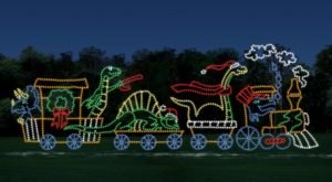 Take A Dreamy Ride Through The Largest Drive-Thru Light Show In Missouri, Lights Of Joy