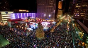 The Magical Cincinnati Christmas Tree That Comes Alive With A Million Colorful Lights