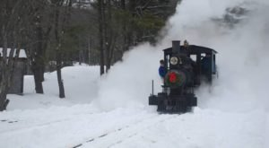 Watch The Maine Countryside Whirl By On This Unforgettable Christmas Train