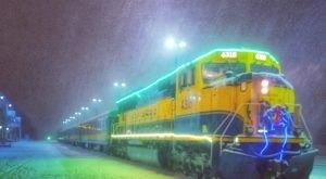 The Santa Train In Alaska That's A Christmas Dream Come True
