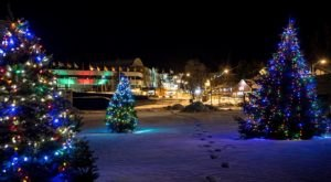 The Most Enchanting Christmastime Main Street In The Country Is Lake Placid In New York