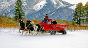 Take A Horse Drawn Carriage Ride In Idaho For A Night Of Pure Wonder