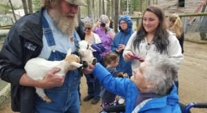Play With Animals At This Remarkable Sanctuary Hiding In Maine