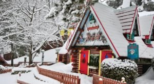 The Magical Christmas Elf Village In New York Where Everyone Is A Kid Again