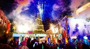 The Magical Georgia Christmas Tree That Comes Alive With A Million Colorful Lights