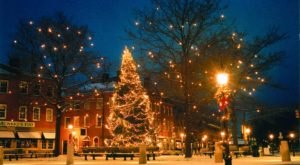 The Most Enchanting Christmastime Main Street In The Country Is Newburyport In Massachusetts