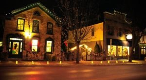 The Most Enchanting Christmastime Main Street In The Country Is Cedarburg In Wisconsin