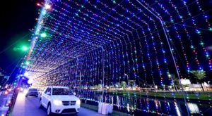 Take A Dreamy Ride Through The Largest Drive-Thru Light Show In Florida, The Daytona Magic Of Lights