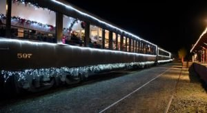 Watch The Northern California Countryside Whirl By On This Unforgettable Christmas Train