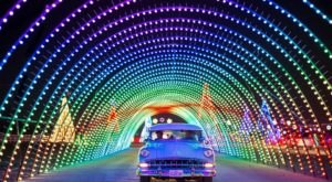 This Drive-Thru Light Show Is The First Of Its Kind For Colorado… And You Do Not Want To Miss It