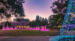 The 30-Acre Botanical Garden In Georgia Offers A Holiday Experience Like No Other