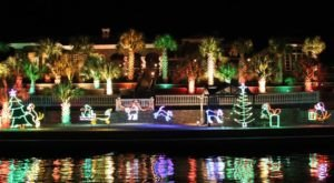 This Dazzling River Light Show Is The Best Way To Experience Christmas In New Mexico