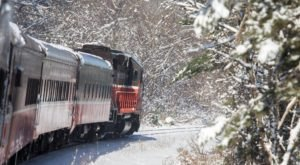 Watch The Rhode Island Countryside Whirl By On This Unforgettable Christmas Train