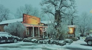 At Christmastime, This Nevada Town Has The Most Enchanting Main Street In The Country